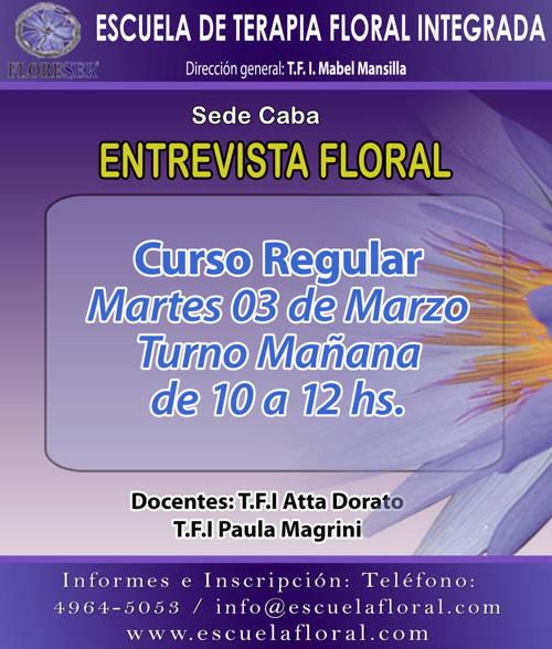 Escuela Terapia Floral
